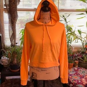 H&M Cropped Hoodie. Size S. NWOT.